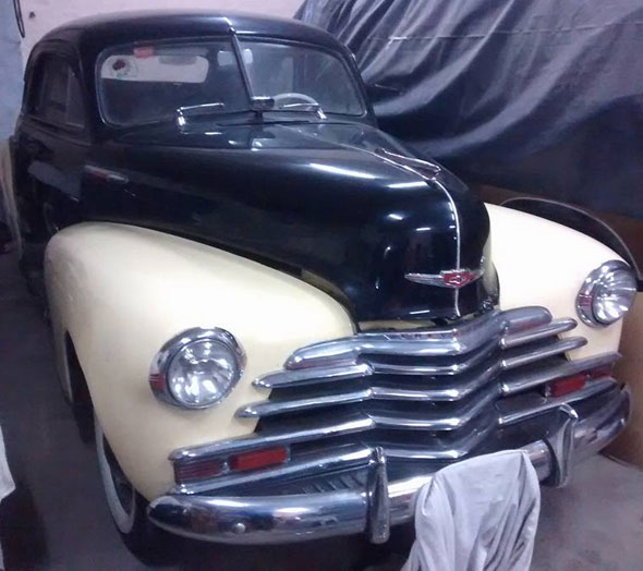 Car Chevrolet 1947