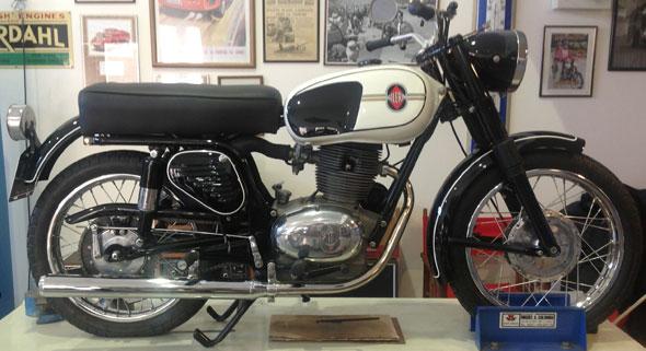 Motorcycle Gilera SP