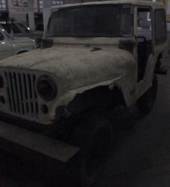 Car Jeep IKA 4x4