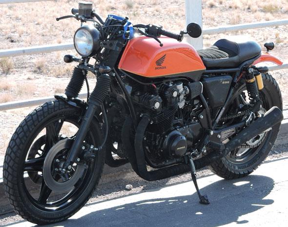Motorcycle Honda CB 750 F Cafe Racer