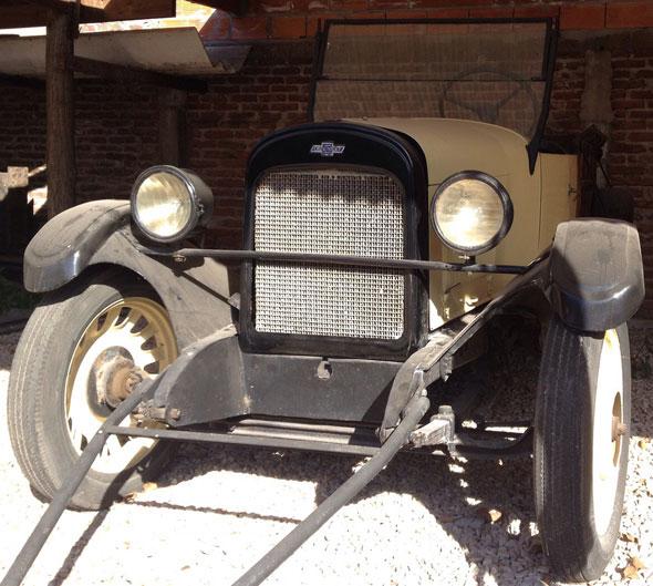 Car Chevrolet 1924 Camioneta