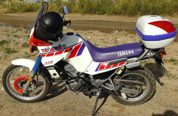 Auto Yamaha Tenere 660