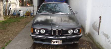 Auto BMW 635 CSI