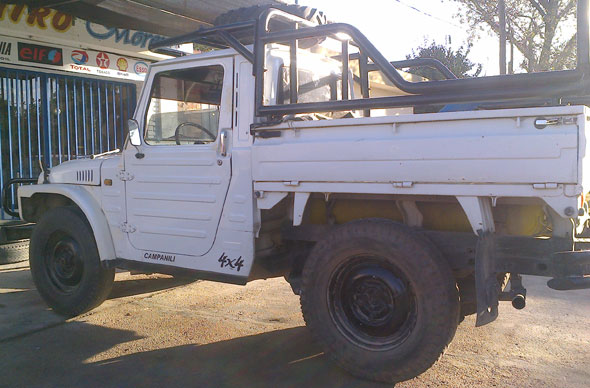 Auto Suzuki LJ 1981 Pick Up