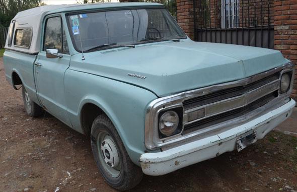 Auto Chevrolet C10 1970