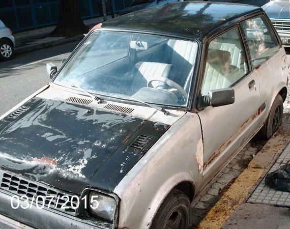 Auto Daihatsu Cuore Coupé 1981