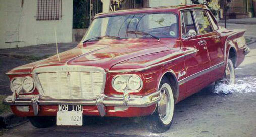 Car Valiant 2 1962