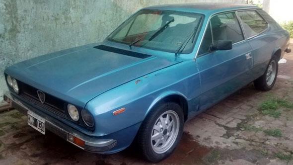 Car Lancia Beta
