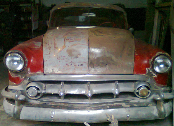 Car Chevrolet Bel Air 1953