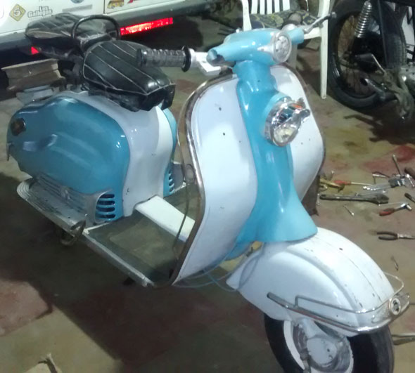 Motorcycle Lambretta Inocenti