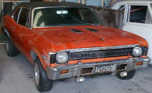 Car Chevrolet Coup� Chevy 1972
