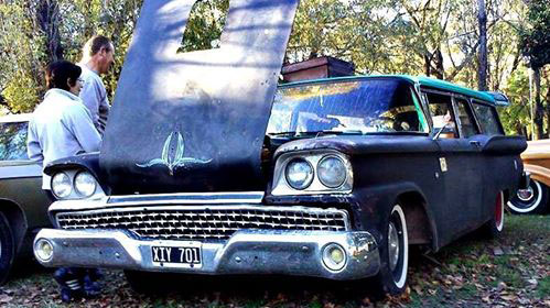 Car Ford Courier 1959