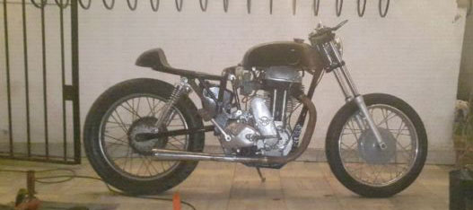 Motorcycle AJS M 18
