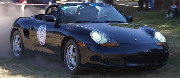 Auto Porsche Boxster 986