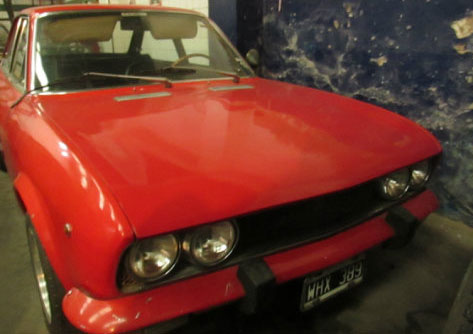 Auto Fiat 124 Coupé