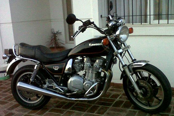 Motorcycle Kawasaki LTD 1000 1981