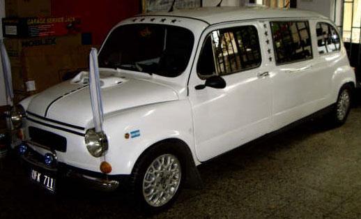 Auto Fiat 600 Limusina