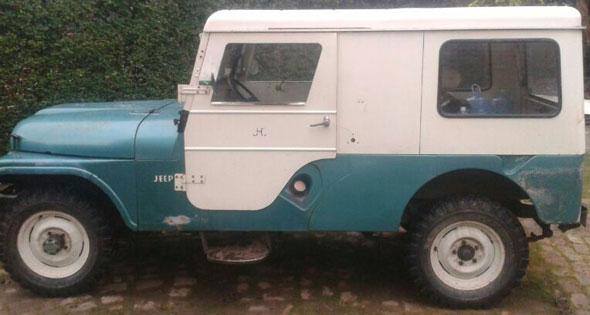 Car Jeep Willys CJ6 Hardtop