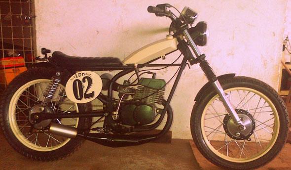 Motorcycle Zanella RX Potenciada