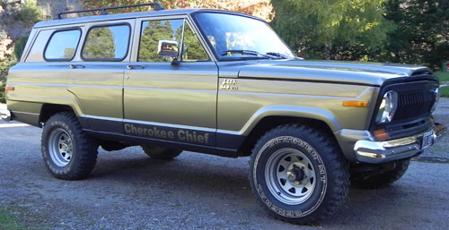 Auto Jeep Cherokee Chief