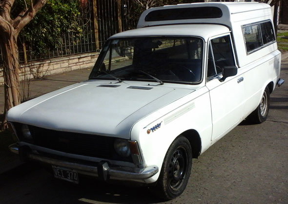 Car Fiat 125 Multicarga