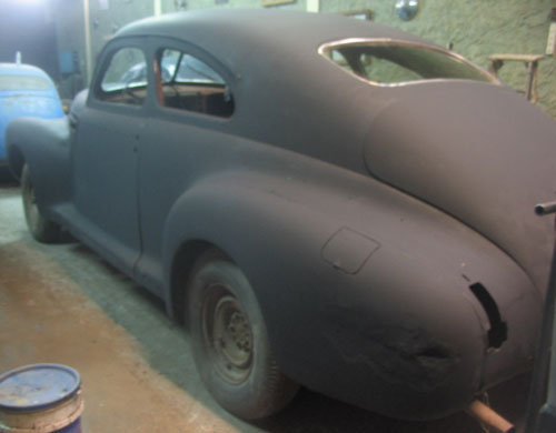 Auto Buick Sedanette 1946
