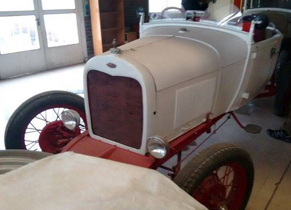 Car Ford Baquet