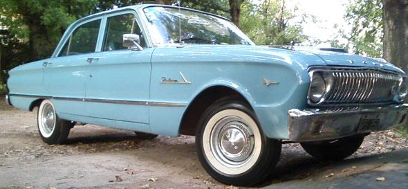 Auto Ford Falcon 1962