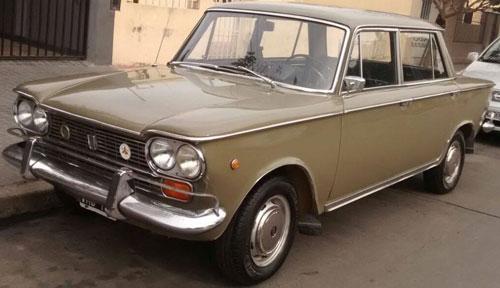 Auto Fiat 1500 1968