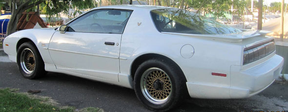 Car Pontiac Trans AM GTA