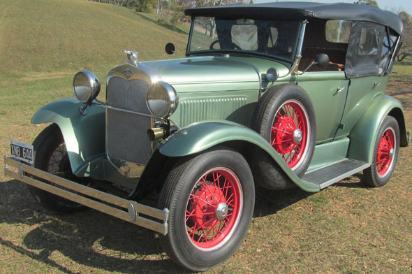 Auto Ford A Doble Phaeton 1929