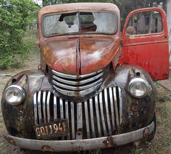 Car Chevrolet 1946