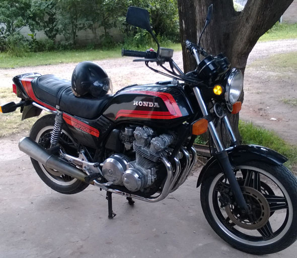 Motorcycle Honda CB 750F Super Sport