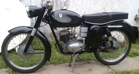 Motorcycle DKW 125 1960