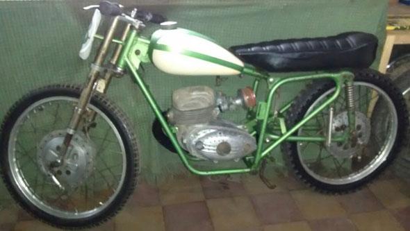 Motorcycle Cecatto Carrera