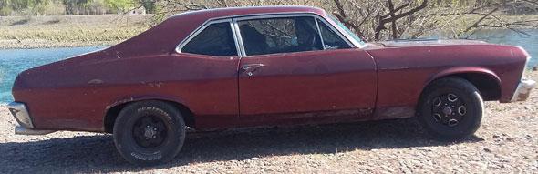 Car Chevrolet Chevy SS Coupé
