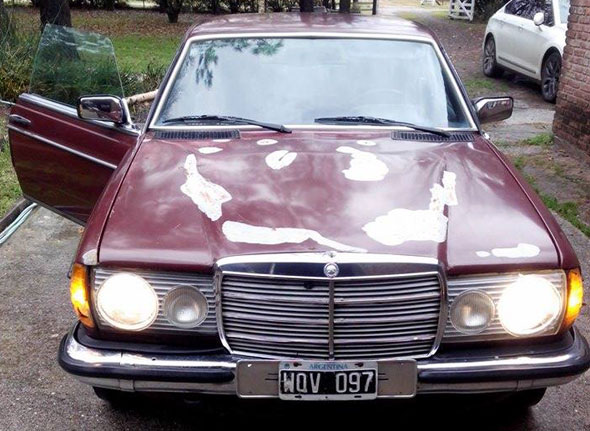 Car Mercedes Benz 1980