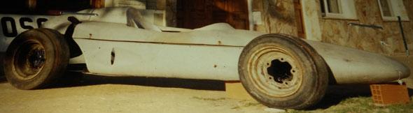 Auto Porsche 718 F2 Monoposto