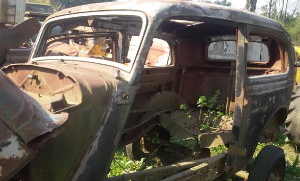 Car Ford Tudor