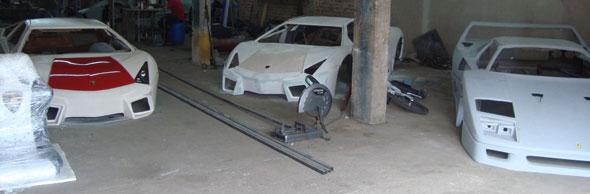 Auto Lamborghini Aventador Réplica