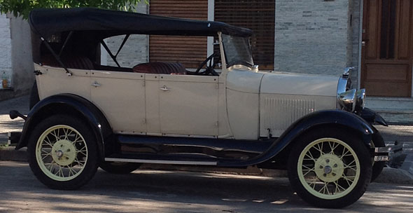 Car Ford A 1928 Doble Phaeton