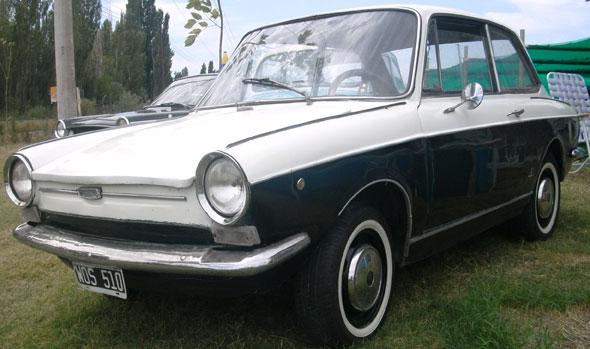 Auto Fiat 800 1967