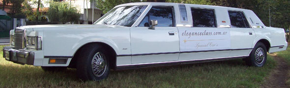 Car Limusina Ford Lincoln Town Car