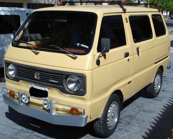 Car Daihatsu 55 Wide 1981