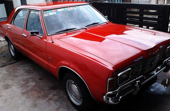Auto Ford Taunus-1978