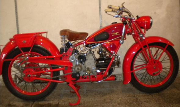 Motorcycle Guzzi 1934