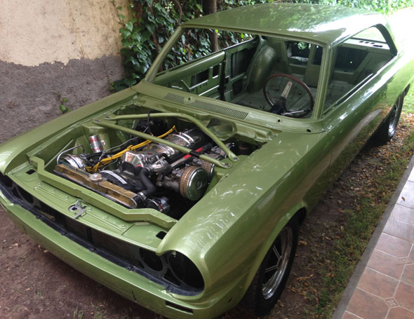 Car Renault Torino TS 1972