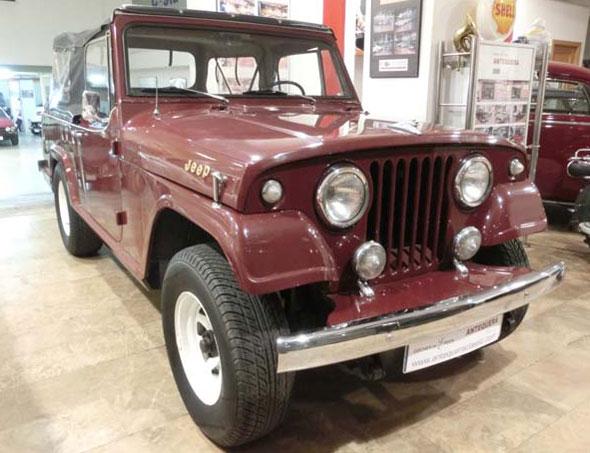 Car Jeep Comando S 1973