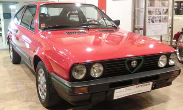 Car Alfa Romeo Alfasud Sprint 1,5 Q.V.