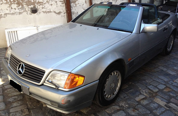 Car Mercedez Benz SL320